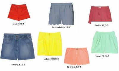 Les shorts de l'été en solde !