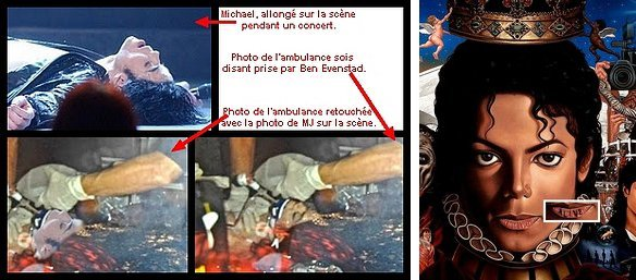 • Photo fake & l'album. ; http://Michael-Jackson--Vivant.skyrock.com/