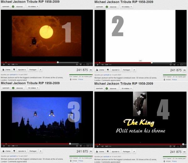 • Une vidéo troublante.; http://Michael-Jackson--Vivant.skyrock.com/