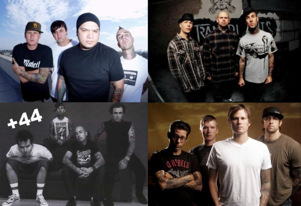 Box Car Racer, Transplants, +44, AvA
