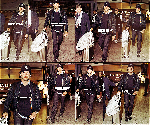 *18 Octobre 2012 : Bradley a été vu sortir de l'aéroport Heathrow à Londres!*
