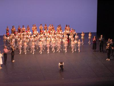 Résultat du concours interne pour entrer dans le corps de ballet de l'Opéra de Paris
