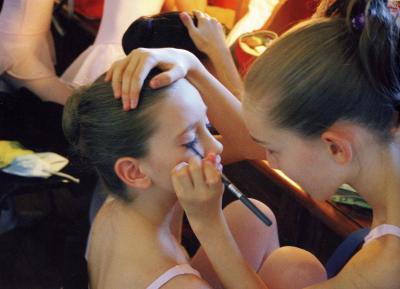 Le maquillage de scène