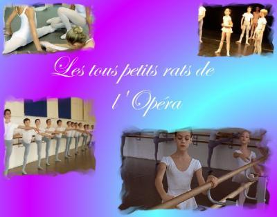"""Emission """"les tous petits rats de l'Opéra"""""""