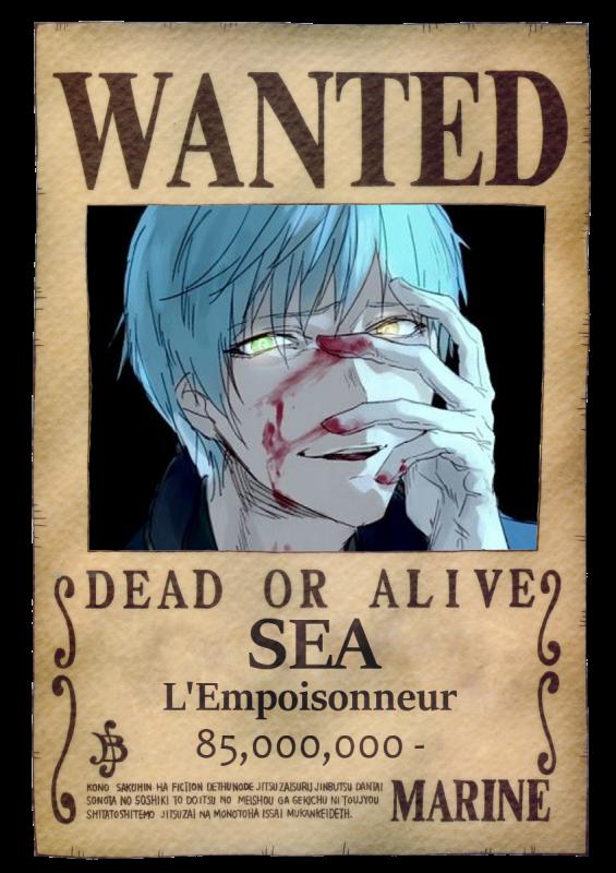 Les Jaws débarquent - Fiche de personnage : Sea.