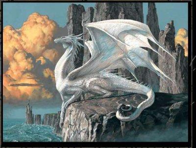 mon dragon blanc