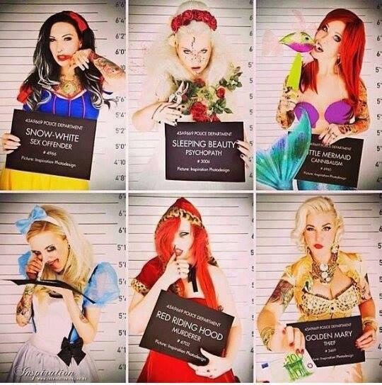 Princesses Disney revisitées