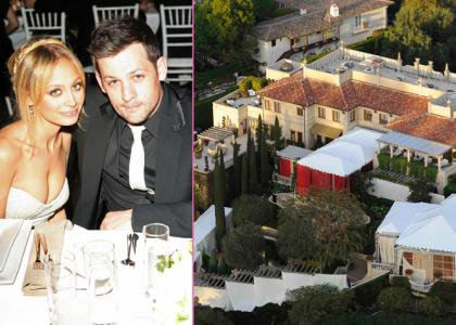 Nicole Richie And Joel Madden Tie The Knot! ;-)