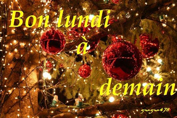Bonne nuit et à demain - encore quatre jours avant la veillée de Noël.