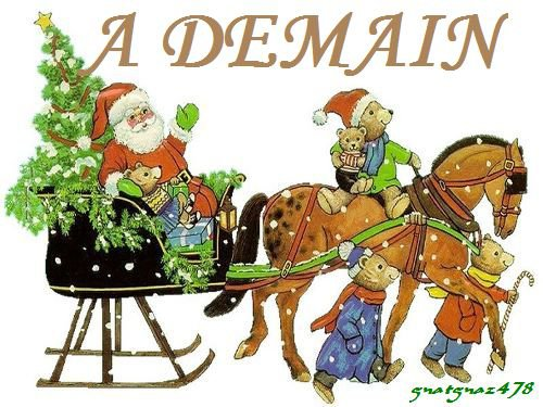 Encore deux jours avant la veillée de Noël   -   A demain   -