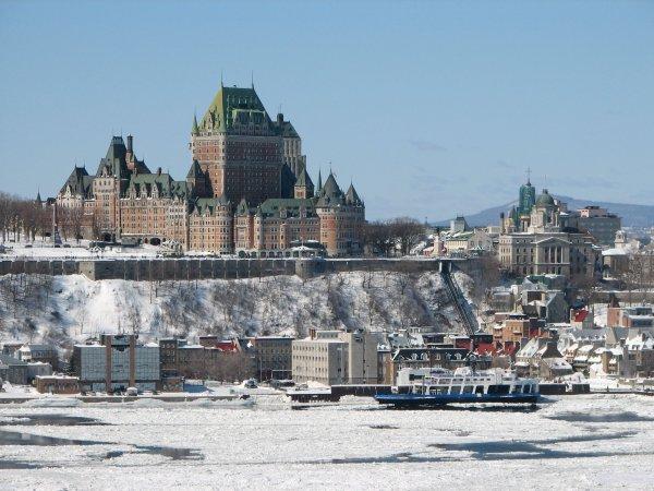 Quebec, notre destination du jour pour quelques superbes photos