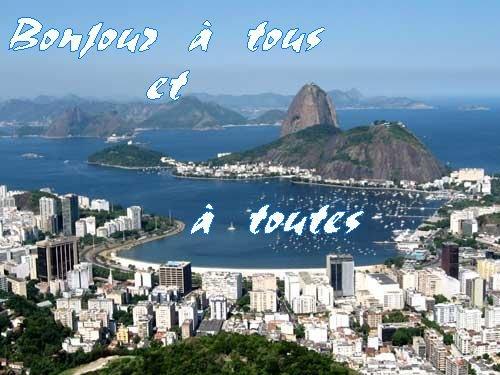 Bonjour à tous - Pour terminer, le plus beau carnaval du monde - le carnaval de Rio -