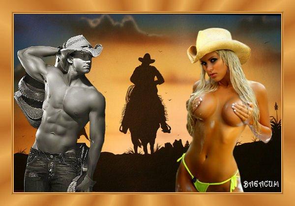 Une fois n'est pas coutume, les cowgirls à l'honneur.