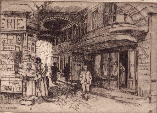 A Paris  - Cloître Saint-Honoré