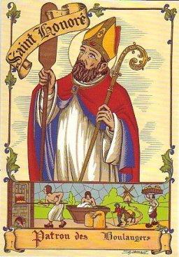 Saint-Honoré, patron des boulangers-pâtissiers et professions assimilées