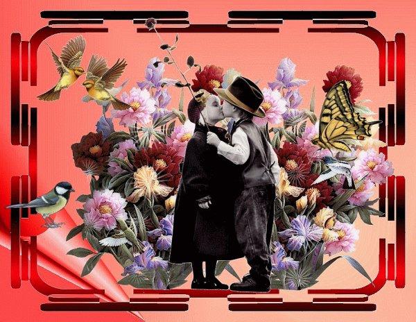 Les fleurs de mai, aujourd'hui : les pavots.  -  Bisous à tous et à toutes.