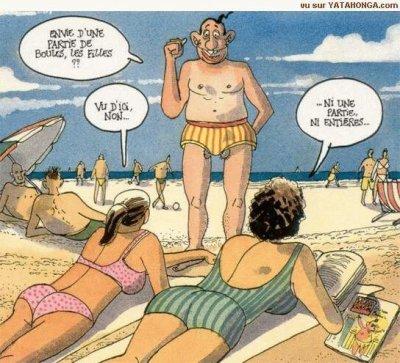 Vive les vacances avec humour
