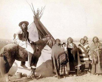 Aujourd'hui quelques pensées en images du monde perdu des indiens d'Amérique