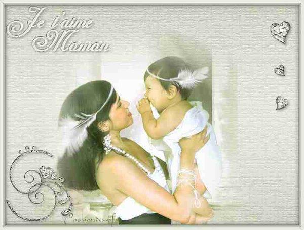 Bonne fête des mères à toutes les mamans françaises