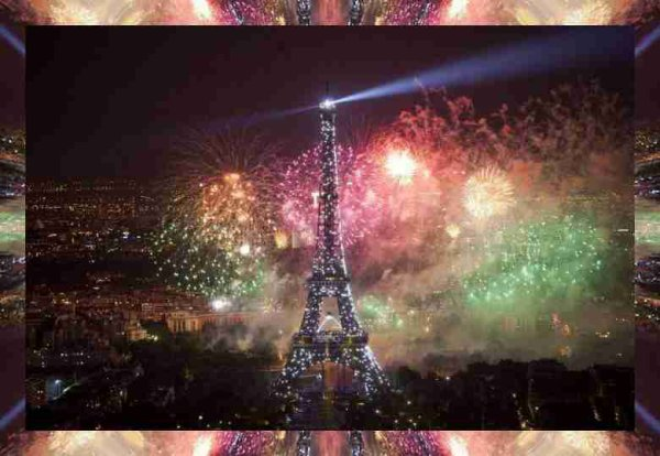 Feux d'artifice à Paris