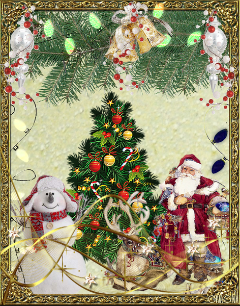 Scrap digital de Noël