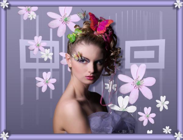 Femme printemps