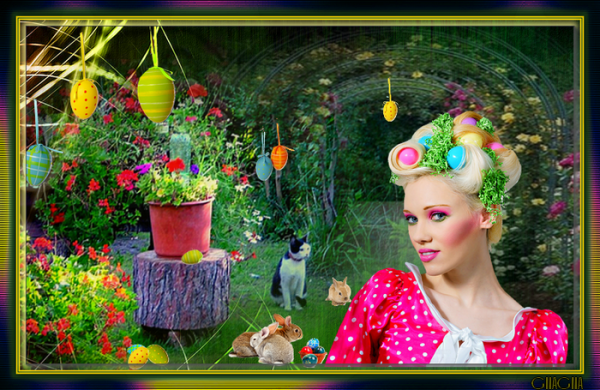 Le jardin de Pâques