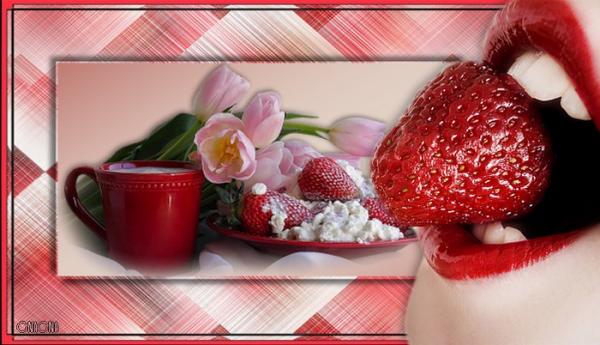 Aaaah les fraises et les framboises ...