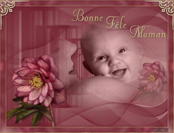 Bonne fête à toutes les mamans de France