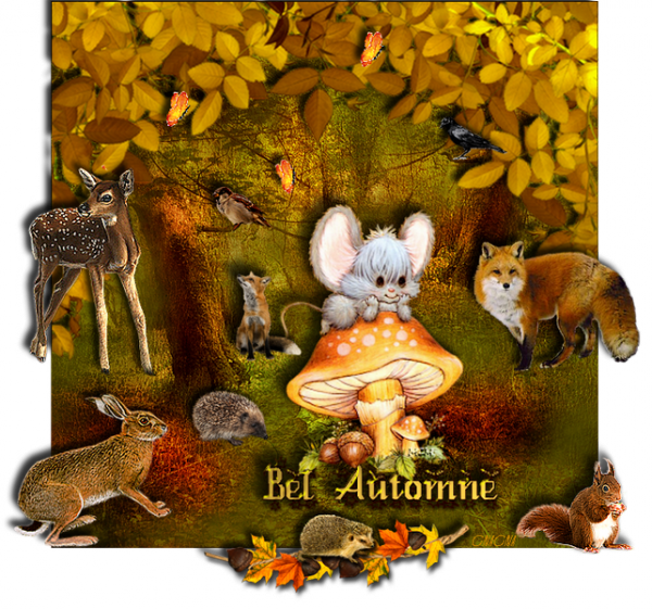 Scrap digital d'automne