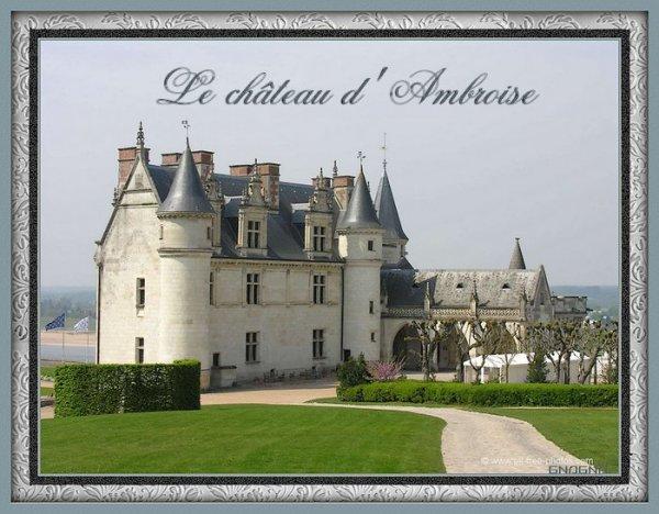 Le château d'Ambroise
