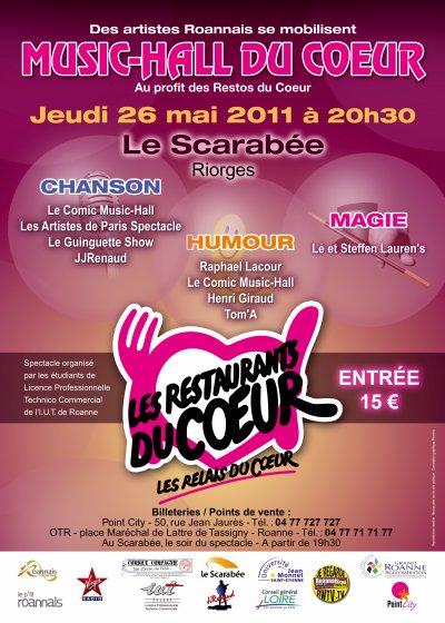JJRENAUD au Scarabée à Roanne le 26 MAI 2011 à 20h30