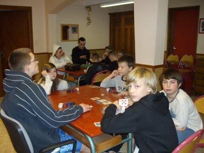 Poker et trivial poursuite sur le thème du ski