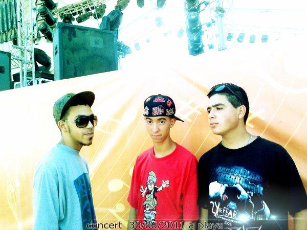 Forsane Rap en Concert Le 30/06/2011 à Playa de Tanger