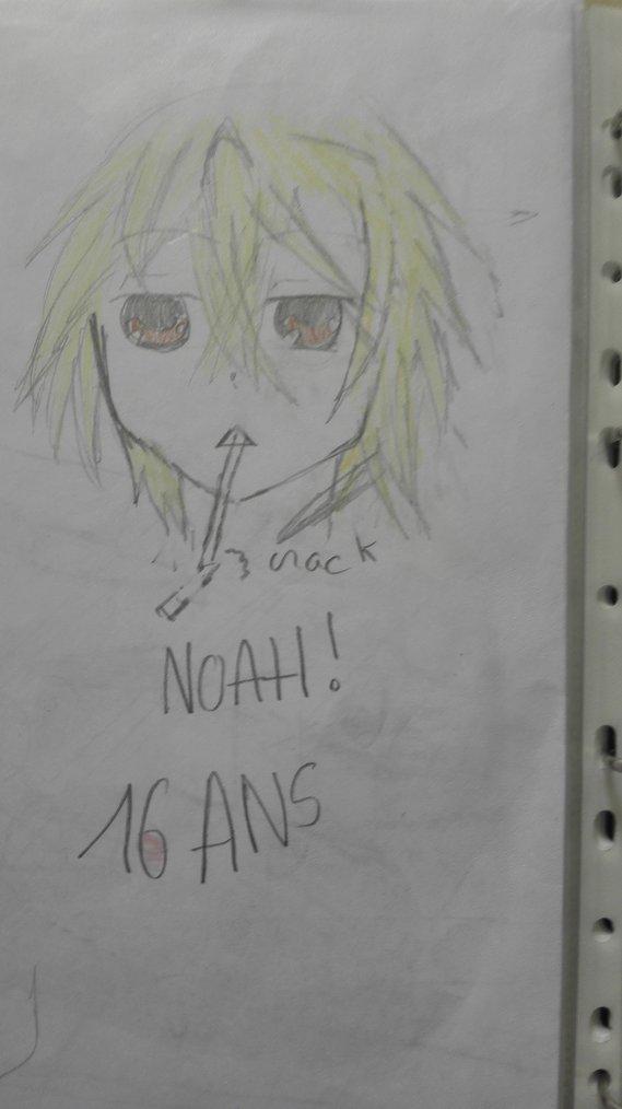 Voilà un petit dessin de Noah!