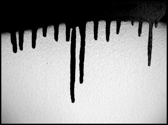 Juste de la peinture qui coule mes graffs - Lampe de sel qui coule ...
