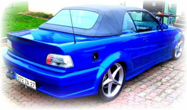 Présentation de la BMW M3 de David