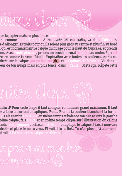 ___________________________✿ Tutoriel #07 ; Faire un cupcake___________________________ ___________________________✿ Tutoriel #07 ; Faire un cupcake___________________________ ___________________________✿ Tutoriel #07 ; Faire un cupcake___________________________