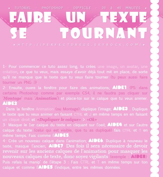 ___________________________✿ Tutoriel #10 ; Faire un texte tournant___________________________ ___________________________✿ Tutoriel #10 ; Faire un texte tournant___________________________ ___________________________✿ Tutoriel #10 ; Faire un texte tournant___________________________