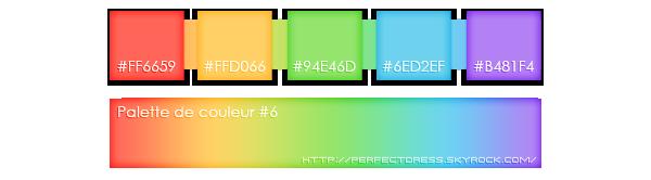 .______________________________Palettes #4, #5 et #6______________________________.