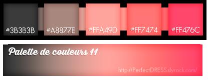 ♥ Palettes #7 à #14 : Spécial St VALENTIN ! ♥
