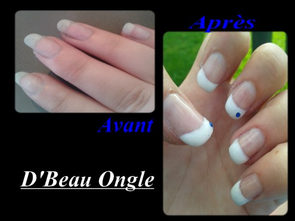 French sur mes ongles