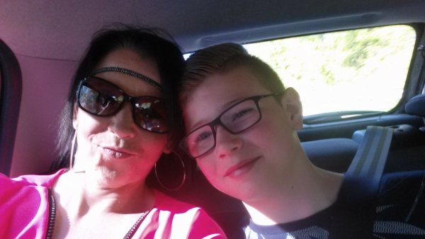 avec mon fils