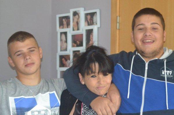 avec mes 2 fils