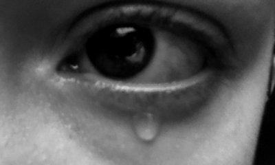 Une larme.