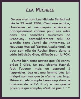14# Lea Michele Other Blog / Other Blog / Newsletter FUNKIWI, Everything we love !