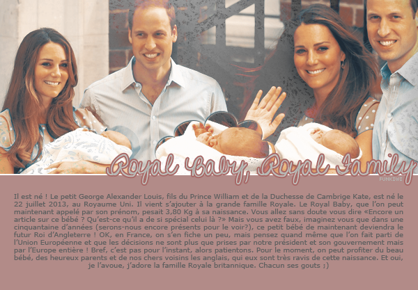 20# Royal Baby, Georges Alexander Louis Other Blog / Other Blog / Newsletter FUNKIWI, Everything we love !