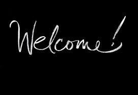Tout d'abord : Bienvenue ou Welcome.