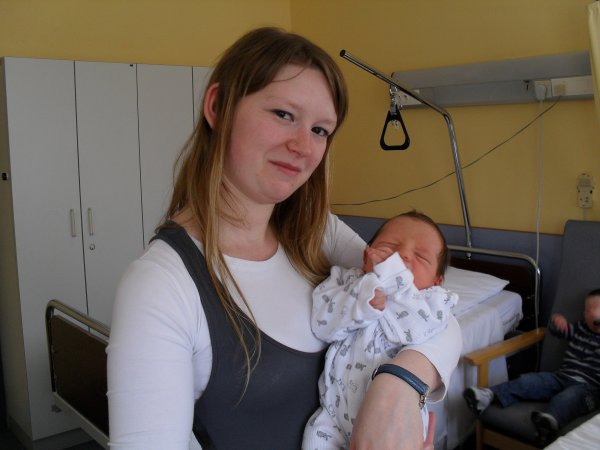 Nolan 4eme jours de sa naissance