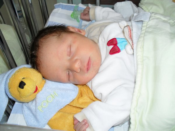 Nolan 5eme jours de sa naissance